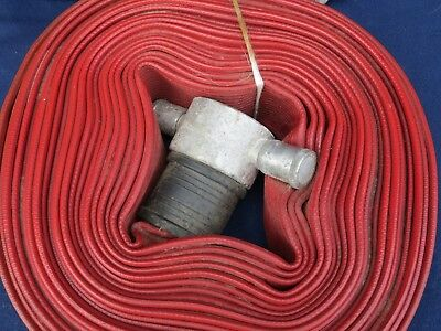 ANGUS DURALINE 500 LAYFLAT FIRE HOSE 64mm x 20m - with Fittings