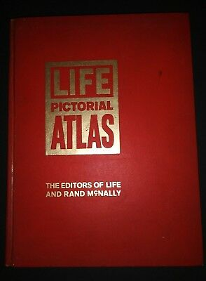 Vintage 1961, Life Pictorial Atlas, The Editors of Life and Rand McNally