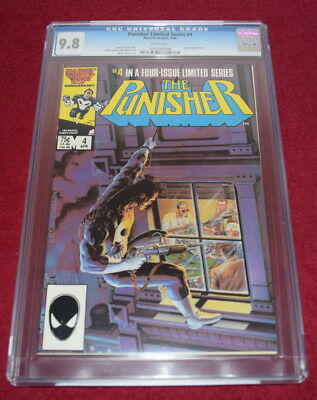 Punisher Limited Series #4 CGC 9.8 W Pages Mike Zeck Jigsaw Appearance