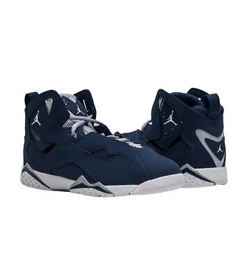 pretty nice b80f9 ab4ec JORDAN TRUE FLIGHT BP Boys PreSchool Midnight Navy/White-Grey 343796-404  Shoes