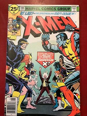 X-Men #100 Marvel Comics Vf-