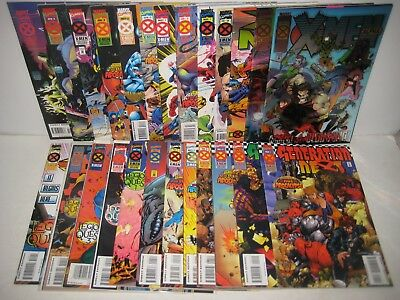 X-Men Age of Apocalypse Lot 50 Issues All Minis Marvel Comics Complete Set