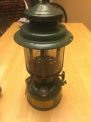 1945 U.S. Army/Military Coleman Lantern w Tank Storage Compartment/Single Mantle