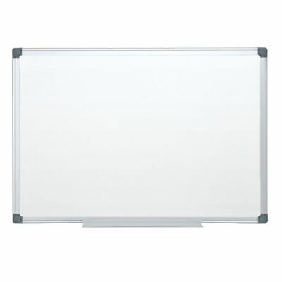 """FORAY Magnetic Dry-Erase Boards With Aluminum Frame, 24"""" x 36"""", White Board"""