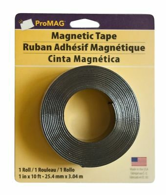 """ProMAG Heavy-Duty Magnetic Tape, 1"""" x 10'"""