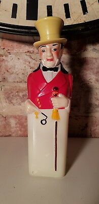 Collectible Retro Vintage Antique Johnnie Walker THE OLD MASTER bottle