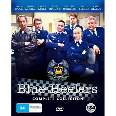 Blue Heelers The Complete DVD Collection R4 New 2018, 134-Disc Set