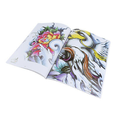 70 PAGES Chine Dragon Design Sketch Flash Book Manuscrit Tattoo Supplies
