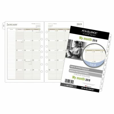 """AT-A-GLANCE® Day Runner® Monthly Loose-Leaf Planner Refill, Size 4, 5 1/2"""" x 8"""
