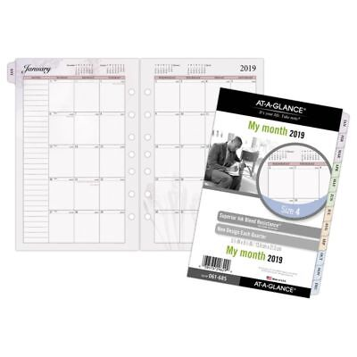 """AT-A-GLANCE® Day Runner® Nature Monthly Planner Refill, Size 4, 5 1/2"""" x 8 1/2"""","""