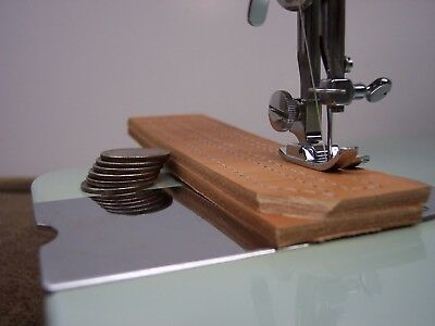 """INDUSTRIAL STRENGTH HEAVY DUTY SEWING MACHINE 16oz Leather 3/8"""" Lift"""