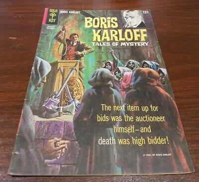 GOLD KEY COMIC TALES OF MYSTERY #12 BORIS KARLOFF 1965 december cgc it dell dc