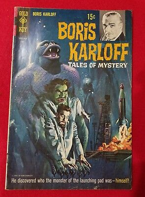 GOLD KEY COMIC Boris Karloff  #26 1969 Tales of Mystery SILVERAGE CGC IT