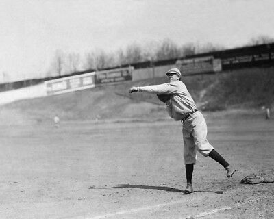 1910 New York Yankees HAL CHASE Glossy 8x10 Photo Vintage Print Poster