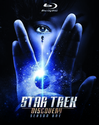 Star Trek Discovery: Season One [New Blu-ray] Boxed Set, Collector's Ed, Stand