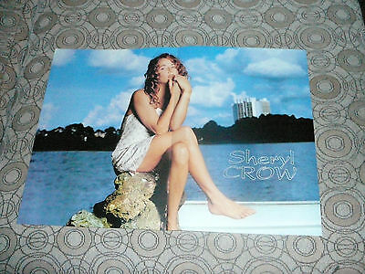 SHERYL CROW PIN UP POSTER PHOTO AFFICHE 11 x 16 CLIPPING