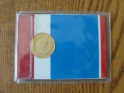 Vintage President Richard Nixon Inauguration Gold Tone Medallion Coin