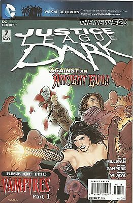 JUSTICE LEAGUE DARK: 7 (Rise Of The Vampires Part 1) (DC New 52)