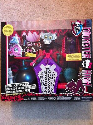 Monster High SECRET CREEPERS Accessories Set **NEW**
