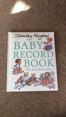 NEW- My Baby Record Book- Shirley Hughes