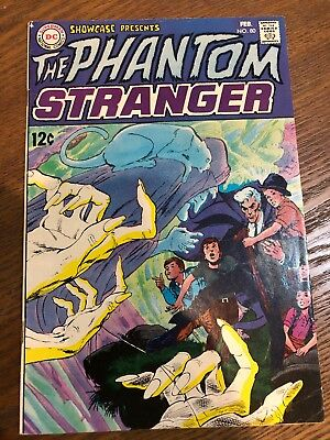 Showcase #80 1St App Phantom Stranger Dc Comics Vf-