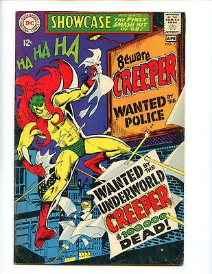 Showcase 73 1st appearance of The Creeper by Ditko! Solid copy.