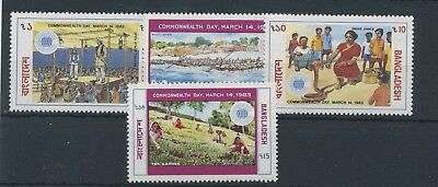 Bangladesch 1983 Commonwealth Day MiNr. 181 - 184 MNH / **