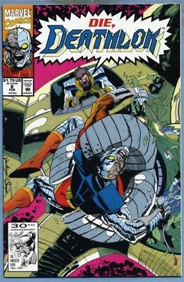 Deathlok #8 (Feb 1992, Marvel) Choose One [Newsstand or Direct] Wright Hebert