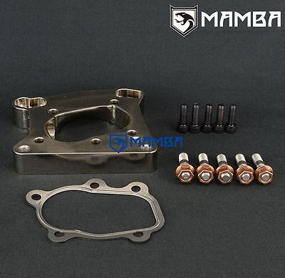 "MAMBA 5 bolt to 3/"" V-band Dump Pipe Flange For Nissan GT-R RB26DETT TB25 GT28R"