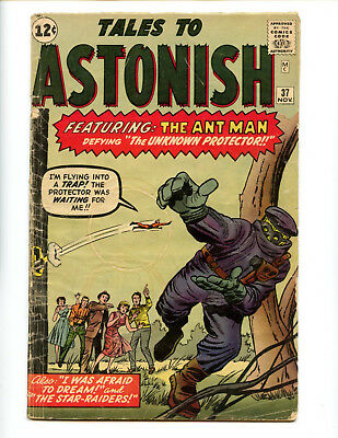 Tales to Astonish 37 Ant-Man Stan Lee Steve Ditko affordable