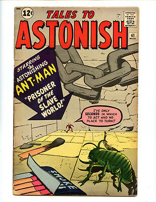 Tales to Astonish 41 early Ant-Man presents very well for price