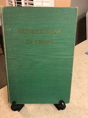 1951 Hunger Signs In Crops/A Symposium-The American Society of Agronomy-GD Condi