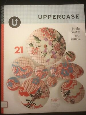 UPPERCASE Art & Design Magazine ISSUE #21 For the Creative and Curious
