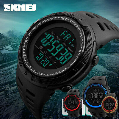 SKMEI Women Mens Smart Watches Bluetooth Digital Sports Wrist Watch Waterproof