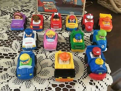 13 Fisher Price Little People Cars