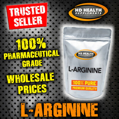 100g PURE L ARGININE POWDER | PHARMACEUTICAL GRADE | NITRIC OXIDE PUMP