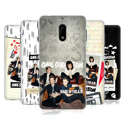 Official One Direction Made In The A.m. Soft Gel Case For Nokia Phones 1