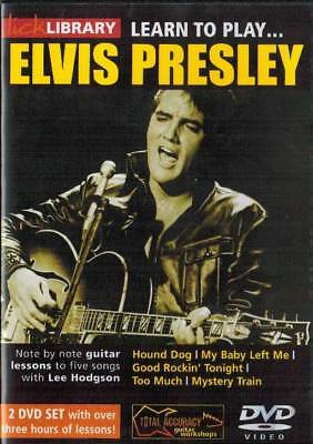 Lick Library Learn to Play Elvis Presley