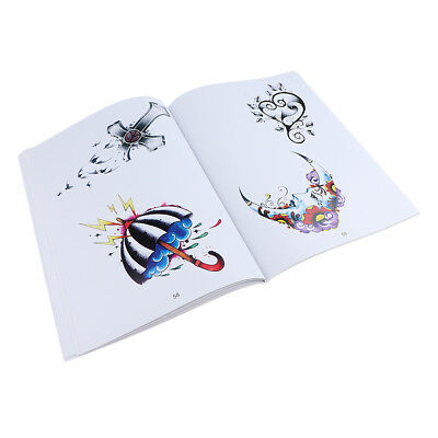 Superbe ligne de croquis de tatouage Flash Art Design Book Birds Figures de