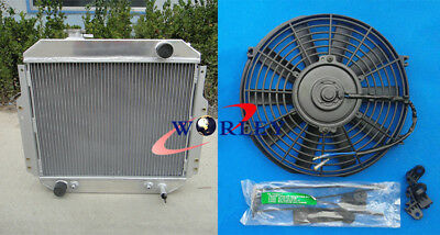 56MM ALUMINUM RADIATOR FOR NISSAN FORKLIFT A10-A25,H20,OEM#2146090H10 A//T 88-92