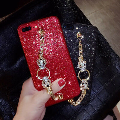 Luxury Bling Diamond Bracelet Case Fashion Cover For iPhone XS Max XR X 7 8 Plus