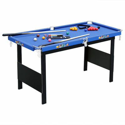 """55"""" Folding Billiard Table Top Pool Game with All Accesorry Included Xmas Gift"""