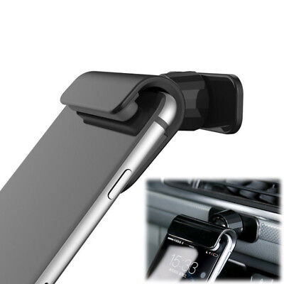 Car Interior Gravity Phone Holder 4-7 inch Mounts Stand Black For iPhone Samsung