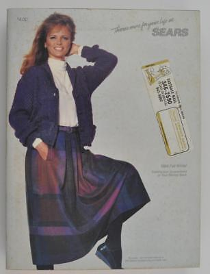 Vintage Sears Fall and Winter Catalog 1984