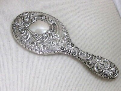 Solid Silver DRESSING TABLE MIRROR  Hallmarked:- CHESTER 1906