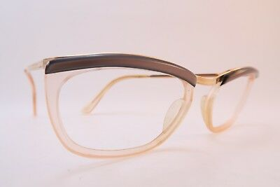 Vintage 50s American Optical eyeglasses frames gold filled made in the USA 5 1/2
