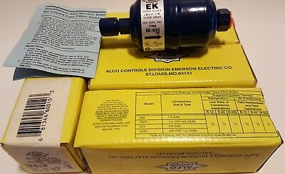 "(4) Alco Conrols EK 03 2 MF Extra Klean liquid line filter-drier 1/4"" in1/4"" out"