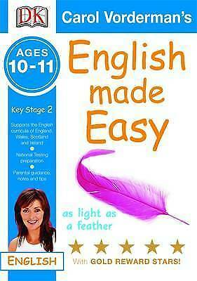 English Made Easy Ages 10-11 Key Stage 2 (Carol Vorderman's English Made Easy),