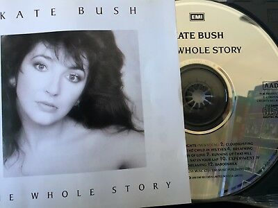 KATE BUSH - The Whole Story - Best Of CD 1986 EMI Holland Exc Cond!