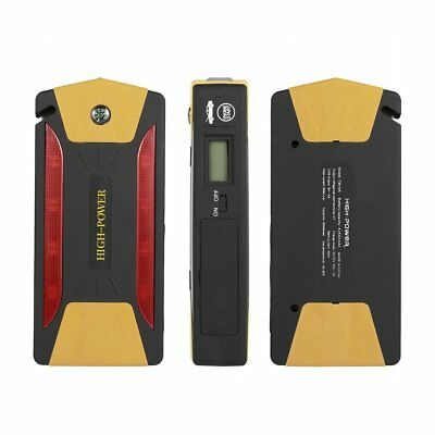 82800mAh 4USB Portable Car Jump Starter Pack Booster Charger Battery Power B QP